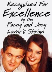 Recognized for Excellence by the Pacey and Joey Lover's Shrine